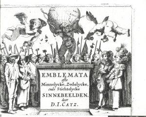 Epu Jacob Cats Sinne En Minnebeelden 1627